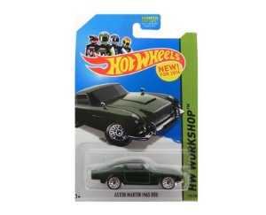 1963 ASTON MARTIN DB5 1/64 HOT WHEELS HW WORKSHOP BDD14-09B0B