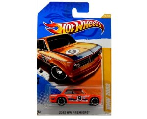 Bmw 2002 Hot Wheels 1/64 Hw Premiere V5309-07A1