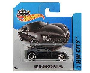 ALFA ROMEO 8C COMPETIZIONE 1/64 HOT WHEELS HW CITY BFC50-05B5