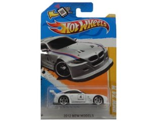 BMW Z4 M 1/64 HOT WHEELS NEW MODELS V5306-09A0K