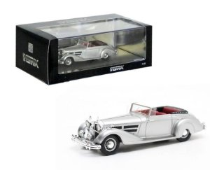 1938 MERCEDES-BENZ W24 540K VANDEN PLAS CONVERTIBLE 1/43 MATRIX MX41302-031