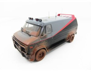 VAN ESQUADRÃO CLASSE A A-TEAM 1/43 HOT WHEELS ELITE BCT88