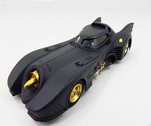 1989 BATMAN BATMOBILE BATMOVEL 1/43 HOT WHEELS ELITE X5494