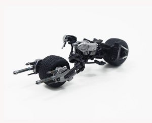 BATCYCLE BAT-POD THE DARK KNIGHT 1/43 HOT WHEELS ELITE X5496
