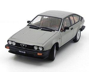1980 Alfa Romeo Alfetta Gtv 2.0 Grey 1/18 Auto Art 70147