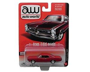 1966 PONTIAC GTO 1/64 AUTO WORLD AW64001A