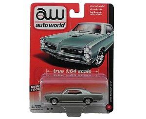1966 PONTIAC GTO 1/64 AUTO WORLD AW64001B