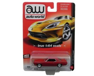 1970 MERCURY COUGAR 1/64 AUTO WORLD AW64011A