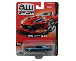 1970 MERCURY COUGAR 1/64 AUTO WORLD AW64011B