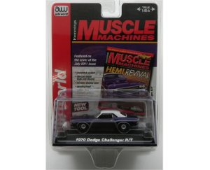 1970 Dodge Challenger 1/64 Auto World Aw64023A