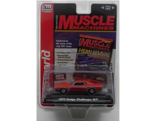 1970 Dodge Challenger 1/64 Auto World Aw64023B