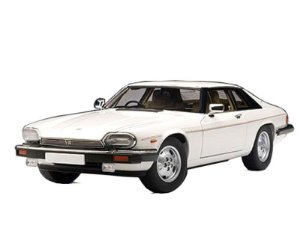 JAGUAR XJ-S COUPE BRANCO 1/18 AUTO ART 73576