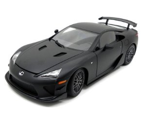 LEXUS LFA NURBURGRING PACKAGE MATT BLACK 1/18 AUTO ART 78839
