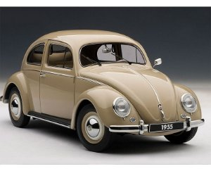 1955 VOLKSWAGEN FUSCA 1200 LIMOUSINE 1/18 AUTO ART 79778