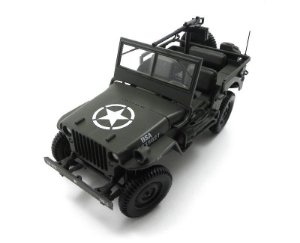 1942 JEEP WILLYS US ARMY MILITARY VEHICLE 1/18 NOREV 189011 NOR189011