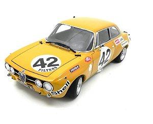 1971 ALFA ROMEO GT AM SPA HEZEMANS #42 1/18 AUTO ART 87103
