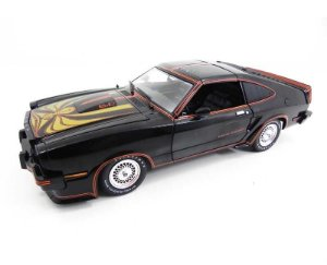 1978 Ford Mustang King Cobra Ii Preto 1/18 Greenlight 12878