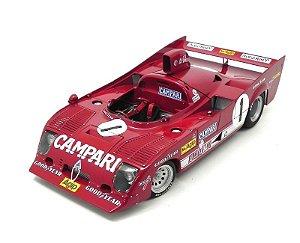 1975 ALFA ROMEO 33 TT 12 1000KM NURBURGRING WINNER MERZARIO/LAFITTE #1/18 AUTO ART 87505