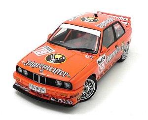 """1992 BMW M3 DTM JAGERMEISTER"""" HAHNE #19 1/18 AUTO ART AUT89248"""