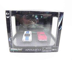 Diorama Apollo 13 1970 Chevrolet Corvette Stingray E 1966 Ford Shelby Gt350 1/64 Greenlight 56042
