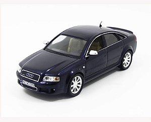 2003 AUDI RS6 METALLIC BLUE 1/43 MOC088