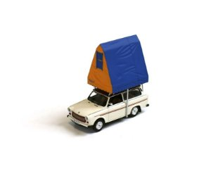 1980 TRABANT 601 S UNIVERSAL (CAMPING) WITH ROOF TENT 1/43 IST MODELS 193