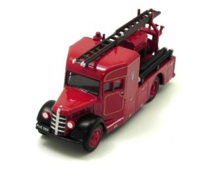London Fire Brigade Bedford Wlg Heavy Unit 1/76 Oxford 76Bhf002