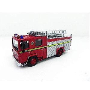 DENNIS RS LONDON FIRE BRIGADE BOMBEIROS 1/76 OXFORD 76DN001