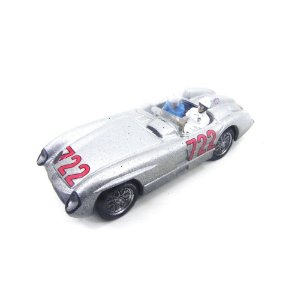 MERCEDES BENZ 300 SLR #722 MOSS/JENKI 1/43 BRUMM AS40