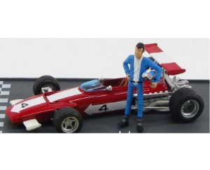 FERRARI F1 312 B #4 LUPIN ON THE GRID 1970 1/43 BRUMM #BRURL05
