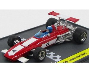 FERRARI F1 312 B #4 LUPIN ON THE RACE START 1970 1/43 BRUMM L06