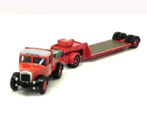 PAT COLLINS HIGHWAYMAN BALLAST AND LOW LOADER 1/76 OXFORD 76SH003