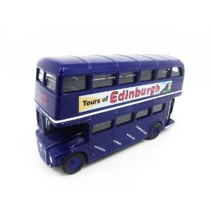 AEC ROUTEMASTER TOURS OF EDINBURGH BUS ONIBUS 1/76 OXFORD SCOT001