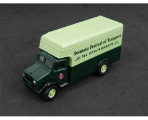 BEDFORD OX/OY/OW SWANSEA FESTIVAL OF TRANSPORT CASE TRUCK 1/76 OXFORD SP082