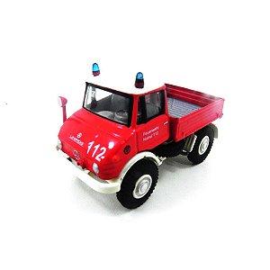 Mercedes Benz Unimog U406 Feuerwehr 1/87 Bub05780-000