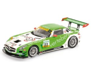 MERCEDES-BENZ SLS AMG GT3 MS RACING SIGACEV/STOLL ADAC GT MASTERS 2011 1/18 MINICHAMPS 151113102