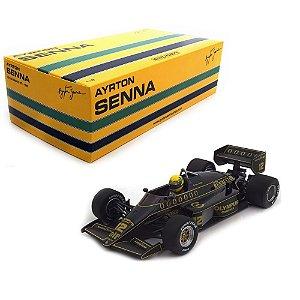 Lotus Renault 97T Ayrton Senna 1985 1/18 Minichamps 540851812