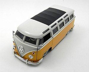 1962 Volkswagen Kombi Bus Van Amarelo 1/24 Jada Toys 91693
