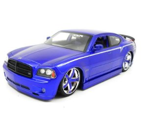 2006 Dodge Charger Purple Lopro 1/18 Jada Toys 96582-P
