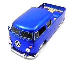 1963 Volkswagen Kombi Pick Up Azul 1/24 Jada Toys 96957