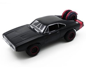 1970 DODGE CHARGER R/T OFF ROAD DOMINIC TORETTO FURIOUS 7 VELOZES E FURIOSOS 1/24 JADA TOYS 97038