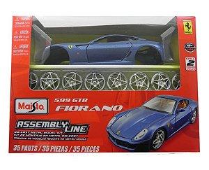 KIT PARA MONTAR FERRARI 599 GTB FIORANO 1/24 MAISTO 39274
