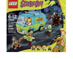 MAQUINA DO MISTERIO SCOOBY-DOO! THE MISTERY MACHINE LEGO 75902