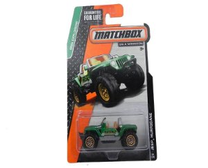 JEEP HURRICANE 1/64 MATCHBOX MBX EXPLORERS BDT61-0910