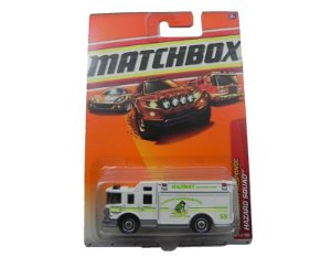 HAZARD SQUAD EMERGENCY RESPONSE 1/64 MATCHBOX T1551-0910
