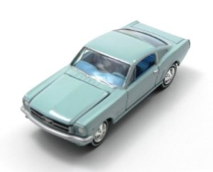 1966 FORD MUSTANG FASTBACK 1/64 JOHNNY LIGHTNING