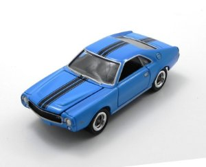 1969 Amc Amx 1/64 Johnny Lightning