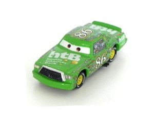 CHICK HICKS 1/43 CARROS DISNEY PIXAR DPCH