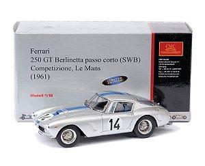 1961 Ferrari 250 Gt Berlinetta Competizione 14 24H Le Mans 1/18 Cmc Cmc-079