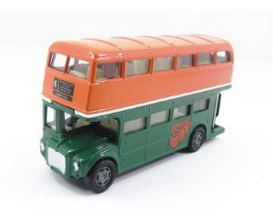 Onibus The Beatles Routemaster Wave 2 Laranja/Verde 1/43 Factory 408994